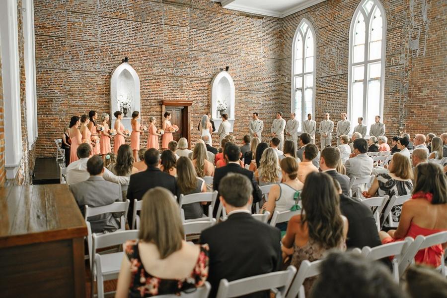 Wedding Photos at Saint Thomas Preservation Hall