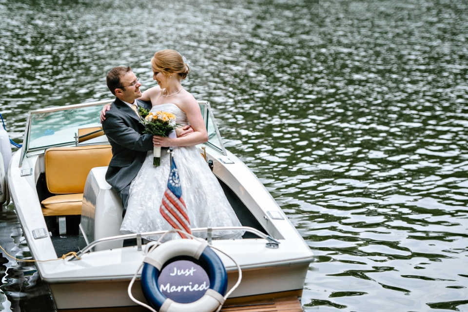 Lake Gaston Wedding