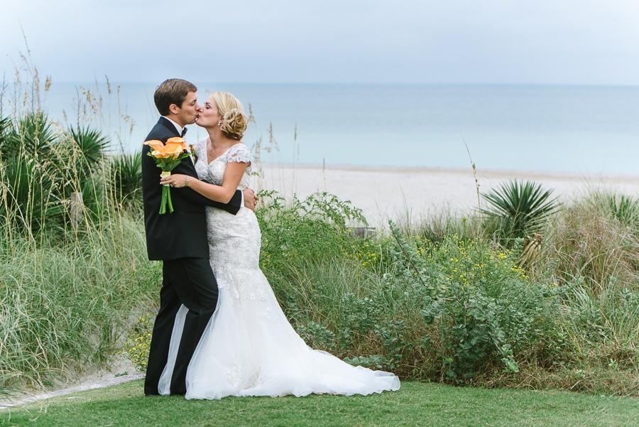 Blockade Runner Wedding Photo