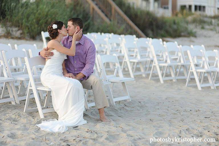 Wedding on Ocean Isle Beach