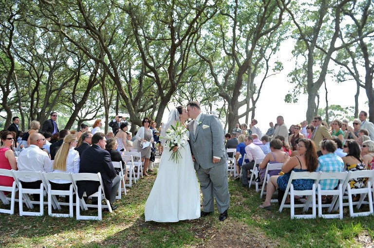 Wedding at Fort Fisher Kure Beach