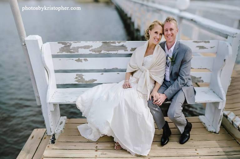 beach house wedding topsail beach