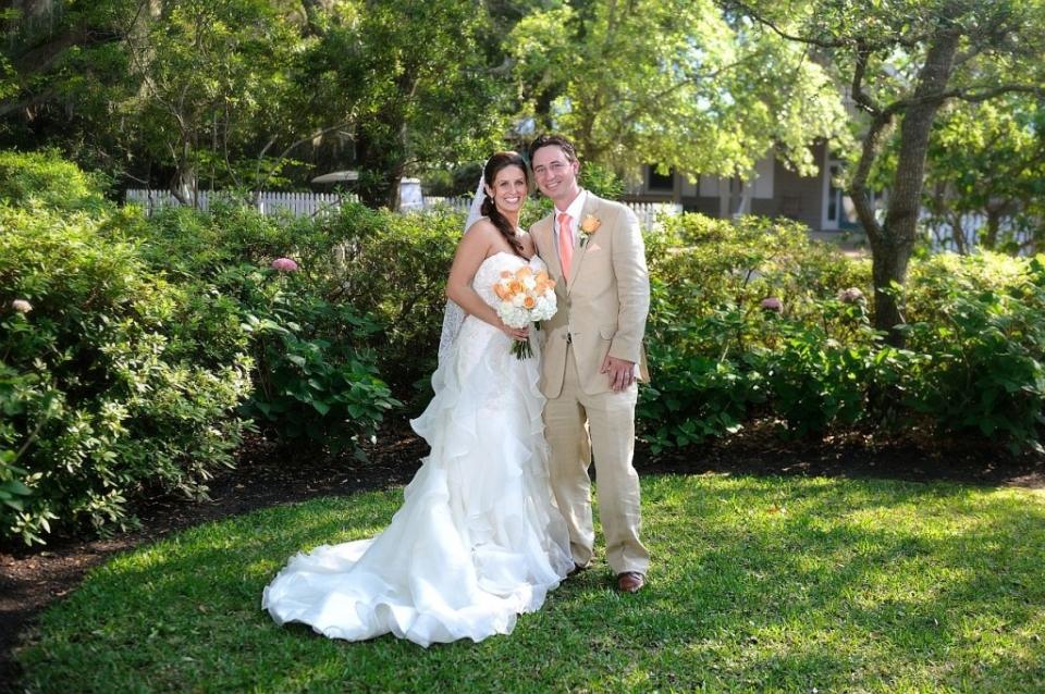 Wedding at Bald Head Island Chapel